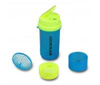 Бутылка для воды (шейкер) INDIGO BOLON 600 мл