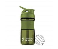 Шейкер Shaker Bottle C11. Цвет-хаки.