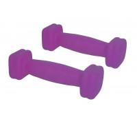 Набор гантелей DB005A. Цвет-фиолетовый.
