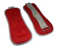 Утяжелители для аэробики HKAW131 2х1,0кг, красный