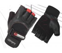 Перчатки для занятий спортом с уплотнителем для защиты ладони 20001