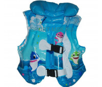 Жилет для плавания надувной YW-12433BL