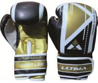 Перчатки боксерские ULT-9008, 8 унций, PU