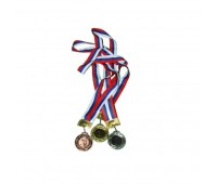 Медаль наградная 1, 2, 3 место