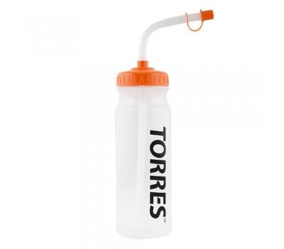 Бутылка для воды TORRES. Объем 750 мл с трубкой 1029