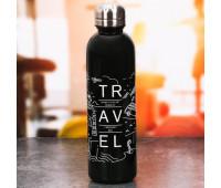 "Бутылка для воды ""Больше путешествий"" 3095990"