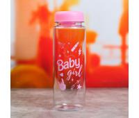 """Бутылка для воды """"Baby girl"""" 5161890"""