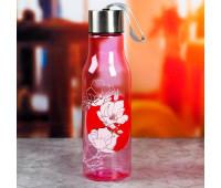 """Бутылка для воды """"Цветы"""" 5232161"""